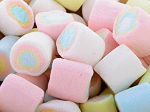 Fotos Süßigkeiten Großansicht Marshmallow