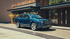 Bilder Bentley Hybrid Autos Blau 2018-20 Bentayga Hybrid Worldwide Autos