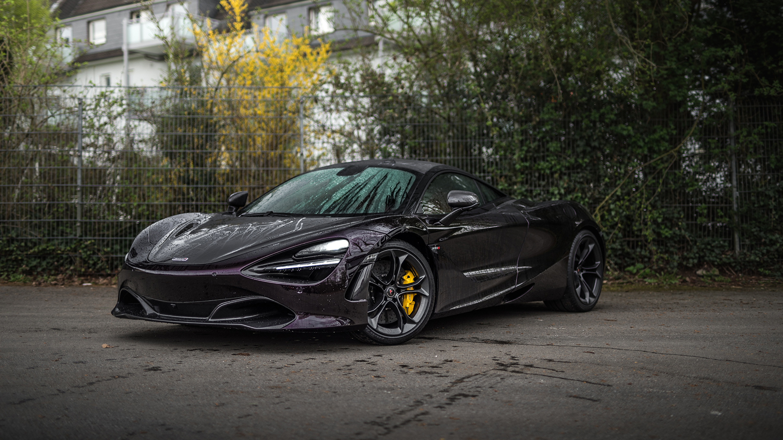 Image 2018 20 Manhart Mclaren 720s Black Cars Metallic 2560x1440