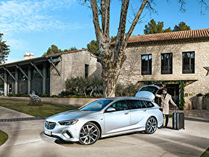 Bilder Opel Silber Farbe 2017-18 Insignia GSi Sports Tourer