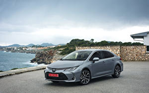 Fotos Toyota Hybrid Autos Grau 2019 Corolla Hybrid Sedan Worldwide