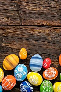Hintergrundbilder Feiertage Ostern Bretter Eier Design