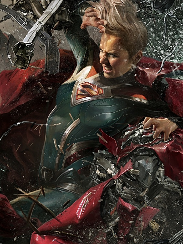 600x800 Supergirl Herói Heróis de quadrinhos Injustice 2 jovem mulher, mulheres jovens, moça, videojogo, super-heróis Jogos Fantasia Meninas para celular Telemóvel