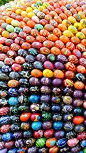Fotos Ostern Feiertage Ei Bunte