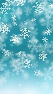 Images Texture Christmas Snowflakes