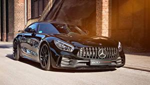 Fotos Mercedes-Benz Schwarz Metallisch 2018-19 Edo Competition AMG GT R Autos