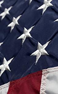 Fotos USA Großansicht Flagge Stern-Dekoration
