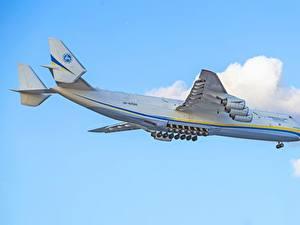 Fotos Flugzeuge Transportflugzeuge Russische An-225 Mriya Luftfahrt