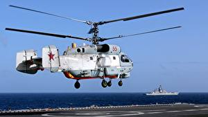 Bilder Hubschrauber Russische Kamov Ka-27