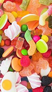 Fotos Süßigkeiten Bonbon Marshmallow