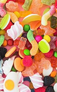 Pictures Sweets Candy Marshmallow Food