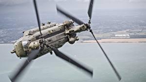 Fotos Hubschrauber Flug Chinook, CH-47 Luftfahrt