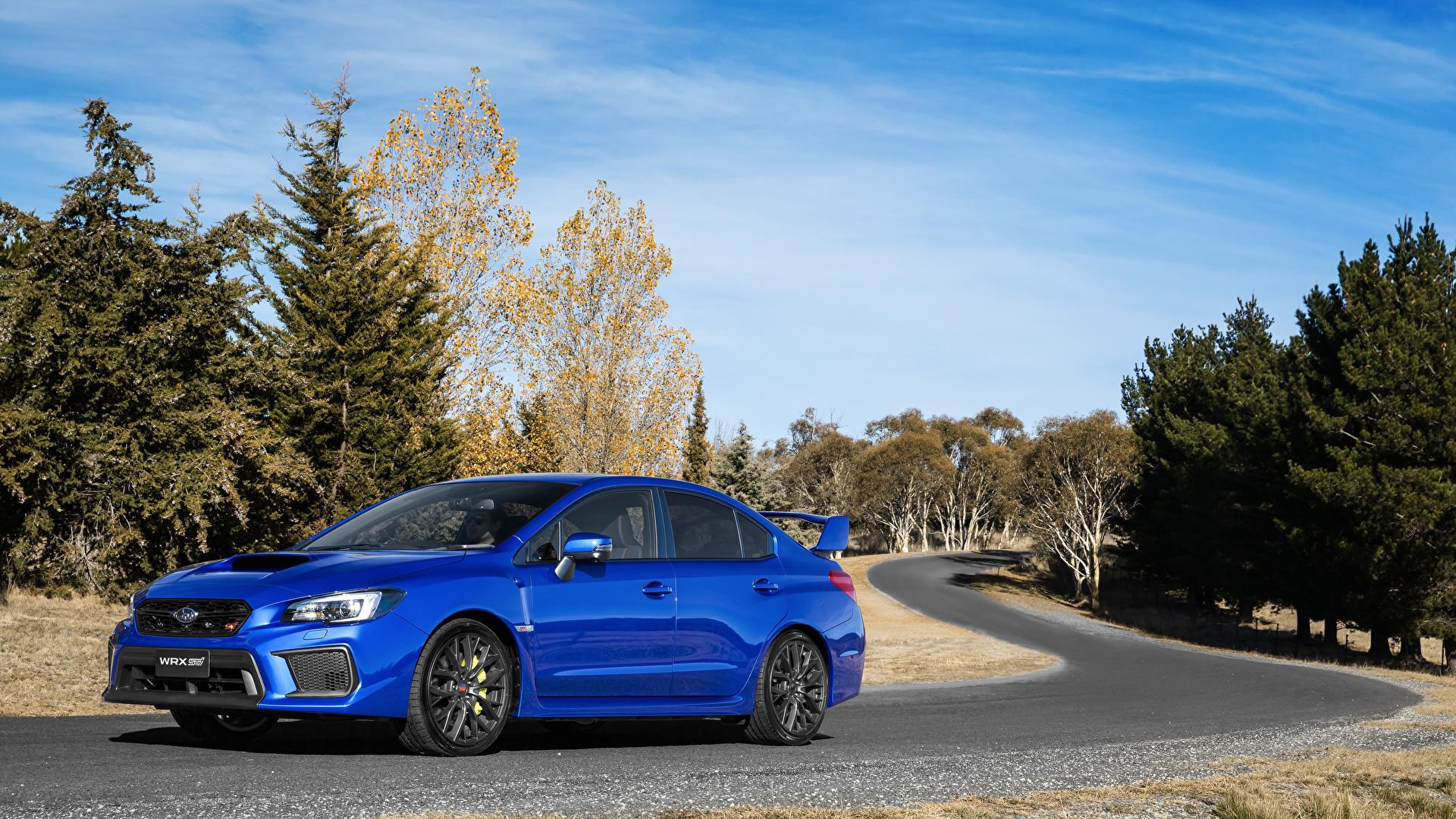 Fondos De Pantalla 1920x1080 Subaru 2017 Wrx Sti Azul