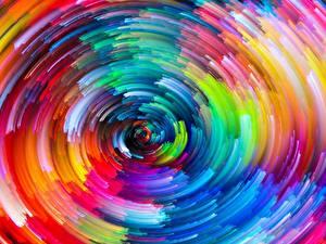 Fotos Textur Abstraktion Kreise Mehrfarbige