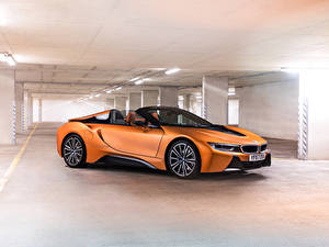 Picture BMW Roadster Orange 2018 i8 Roadster