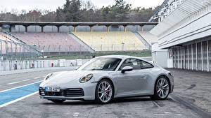 Bilder Porsche Graues Metallisch 2019 911 Carrera S Worldwide Autos