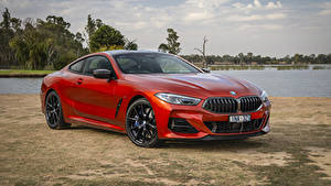 Fotos BMW Rot Coupe  automobil
