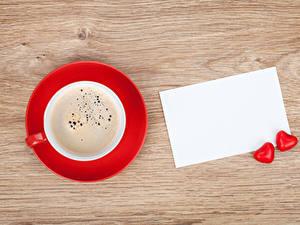 Fotos Kaffee Vorlage Grußkarte Tasse Herz Zwei Blatt Papier
