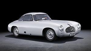 Images Mercedes-Benz Vintage Silver color 1952-53 300 SL Cars
