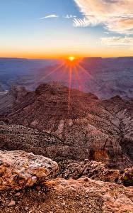Hintergrundbilder Grand Canyon Park USA Gebirge Sonnenaufgänge und Sonnenuntergänge Landschaftsfotografie Canyon Arizona Natur