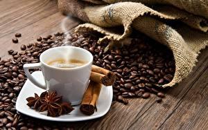 Papéis de parede Café Canela Vapor Cereal Chávena Louça pires Alimentos