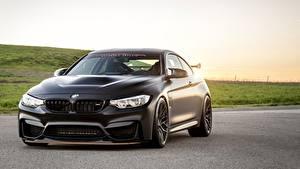 Wallpaper BMW Black GTS F83