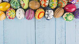 Fotos Ostern Bretter Eier Design