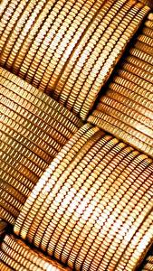 Fotos Münze Geld Nahaufnahme Textur