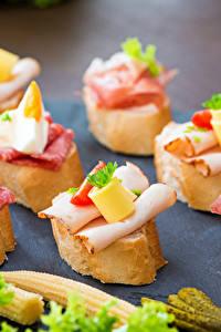 Bilder Butterbrot Wurst Brot Schinken