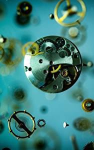 Bilder Uhr Mechanismus Zahnräder