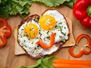 Bilder Spiegelei Frühstück Lächeln