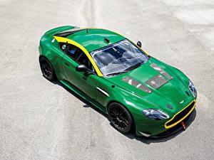 Fotos Aston Martin Metallisch Grün 2010-19 V8 Vantage GT4 Autos