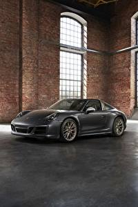 Fotos Porsche Grau Roadster 4x4 Biturbo 911 Targa 4 GTS Exclusive Manufaktur Edition Autos