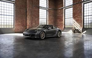 Fotos Porsche Grau Roadster 4x4 Biturbo 911 Targa 4 GTS Exclusive Manufaktur Edition