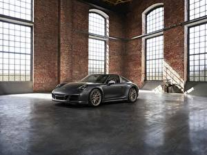 Fotos Porsche Grau Roadster 4x4 Biturbo 911 Targa 4 GTS Exclusive Manufaktur Edition