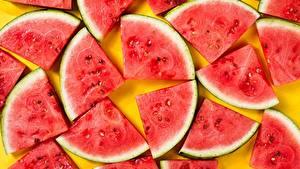 Hintergrundbilder Wassermelonen Textur Stück das Essen