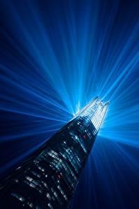 Hintergrundbilder England Haus Wolkenkratzer London Lichtstrahl Turm Nacht Städte
