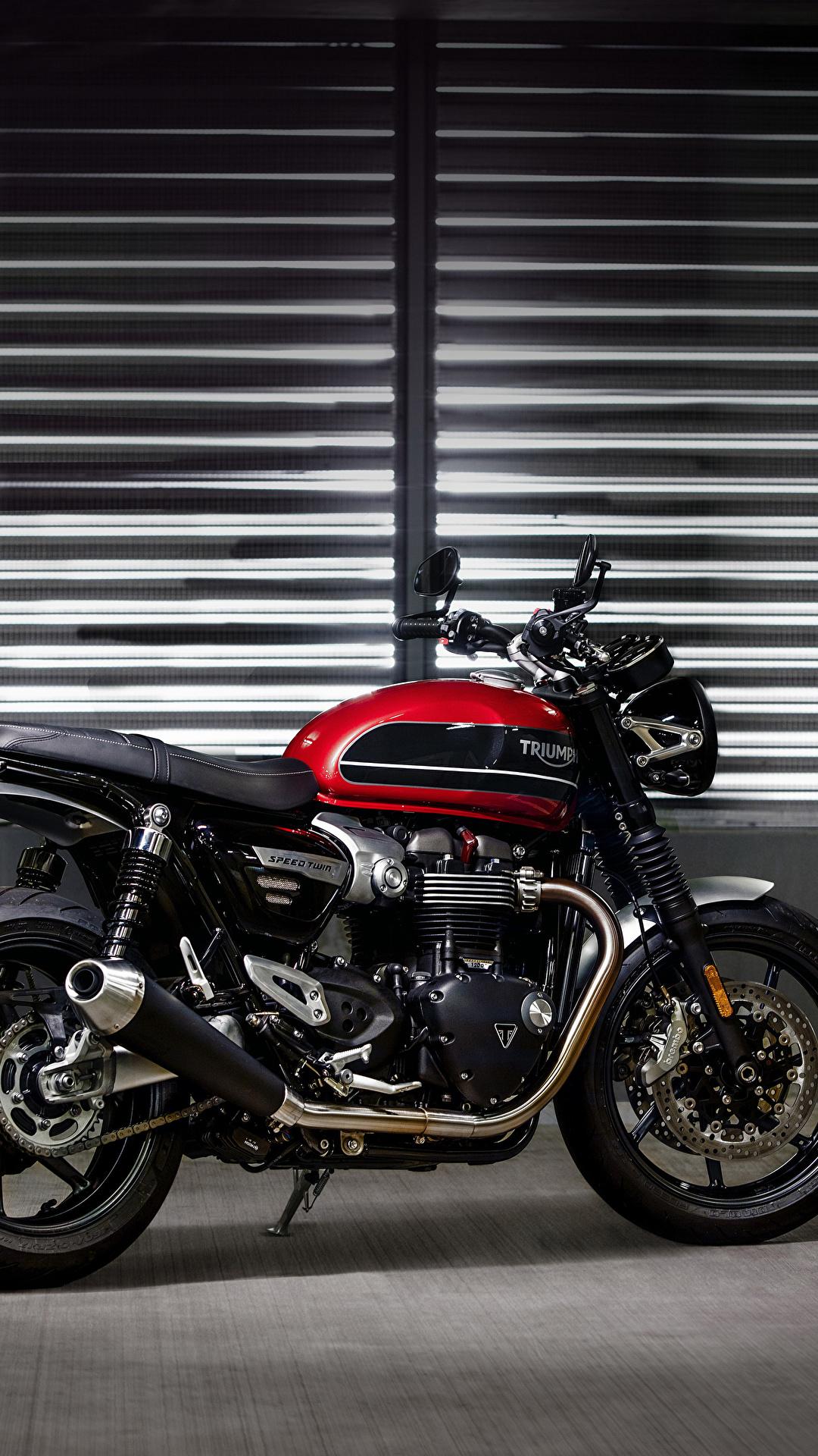 Papeis De Parede 1080x1920 Triumph 2019 Speed Twin Lateralmente Motocicleta Baixar Imagens