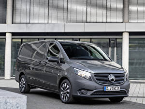 Fotos Mercedes-Benz Ein Van Grau 2020 Vito Panel Van Worldwide