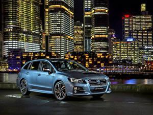 Fotos Subaru Hellblau 2016 Levorg GT-S Autos