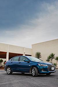 Hintergrundbilder Chevrolet Blau Metallisch 2020 Onix Premier automobil