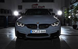 Bureaubladachtergronden BMW Vooraanzicht Witte Coupé F82 Auto