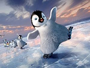 Hintergrundbilder Pinguine Happy Feet Eis Zeichentrickfilm
