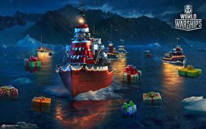 Hintergrundbilder World Of Warship Schiffe Neujahr Geschenke Russisches Tashkent Spiele Heer