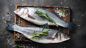 Wallpapers Fish - Food Cutting board Two Salt Food