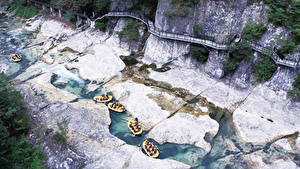 Image Rafting Rivers Boats Japan Cliff Minakami, Prefectural Gummi, Tone District Sport