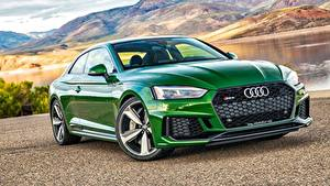 Image Audi Green Coupe Coupe RS 5