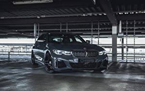 Tapety na pulpit BMW Szara Metaliczna 2020 G-Power M340i Samochody