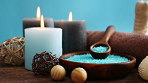 Pictures Candles Salt Spa
