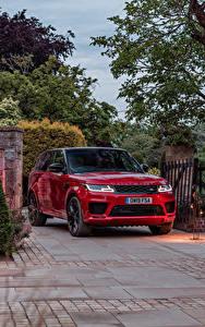 Bilder Land Rover Sport Utility Vehicle Rot Metallisch 2019-20 Sport HST auto